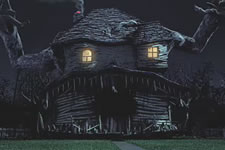 """""""The Munsters"""" Home in Texas"""