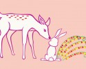 DEER AND BUNNY